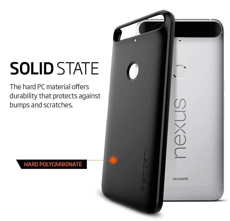 100% Spigen SGP Huawei Nexus 6P Thin Fit Case Cover
