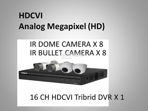 1000Series 720P 16CH HD-TVI Packages