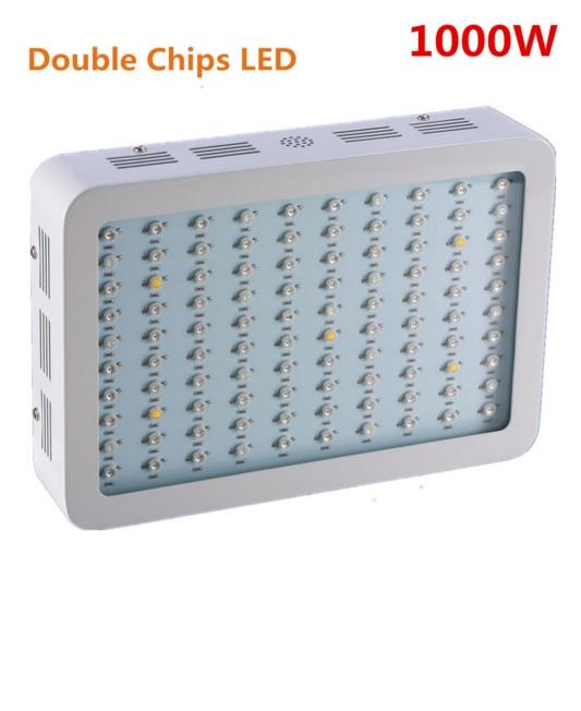 1000W Double Chips LED Grow Light Full Spectrum 410-730nm Indoor Plant