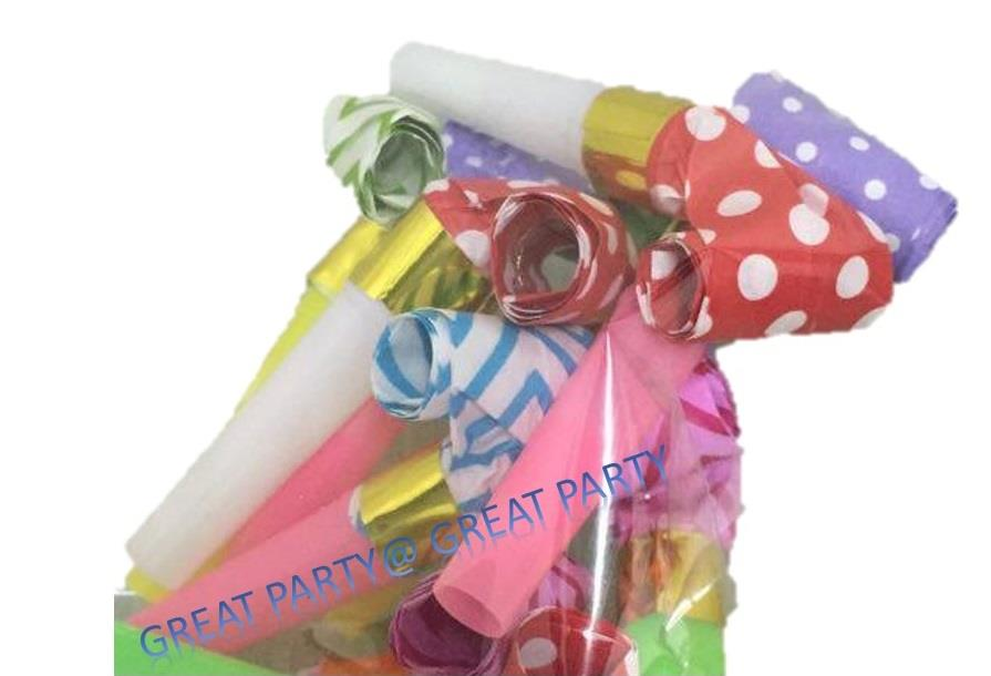 (10pcs) Children Birthday Party Blower With Balloon