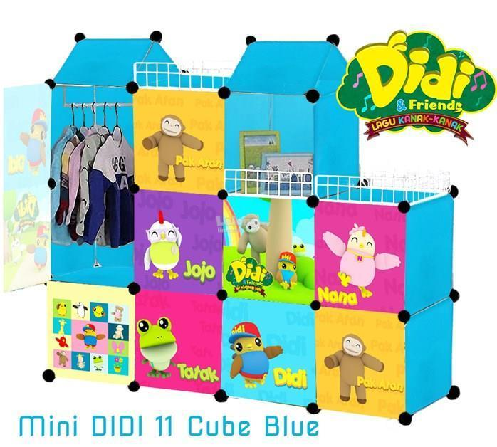 11 CUBE CASTLE CABINET (ASSORTED DESIGN)