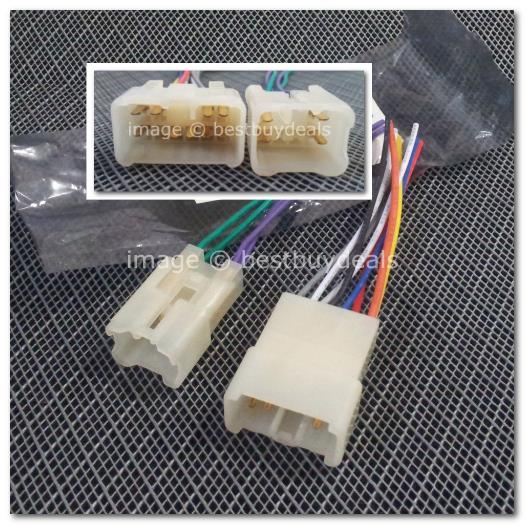 1429 toyota lexus radio iso wiring end 12 9 2015 8 15 pm 1429 toyota lexus radio iso wiring harness connector 10 6 pins ste