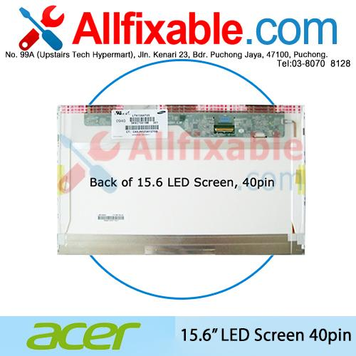 "15.6"" LED LCD (40pin) Screen For Acer Aspire V3-571 E1-571"