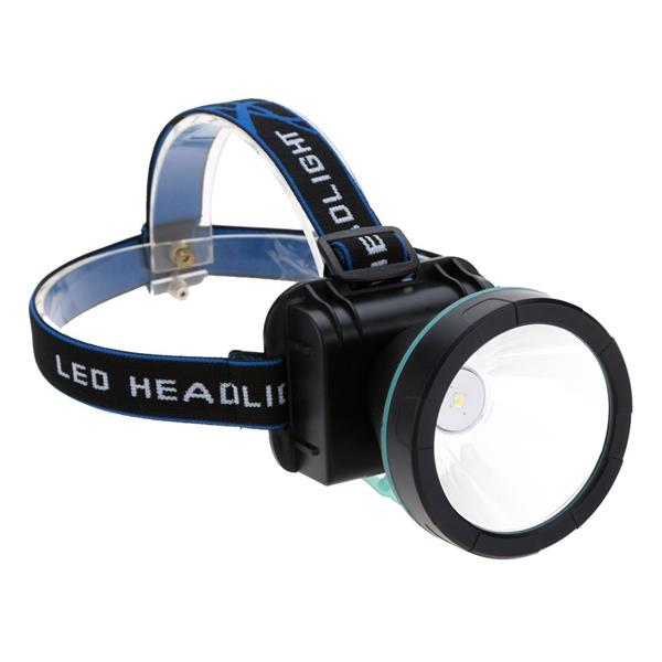 150 Lumens 2 Modes Rechargeable Headlight Headlamp + Charger +Headband