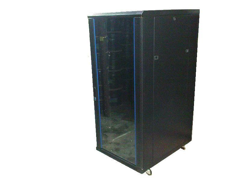 15U Rack Mount Server Rack Glass Door
