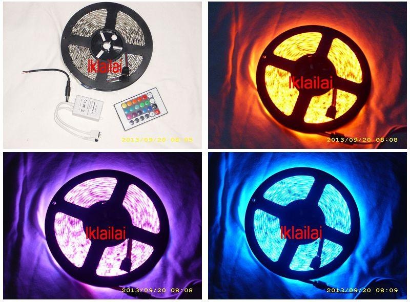 16 Colour LED 5050 Stripe Light 5 meter With Remote Control