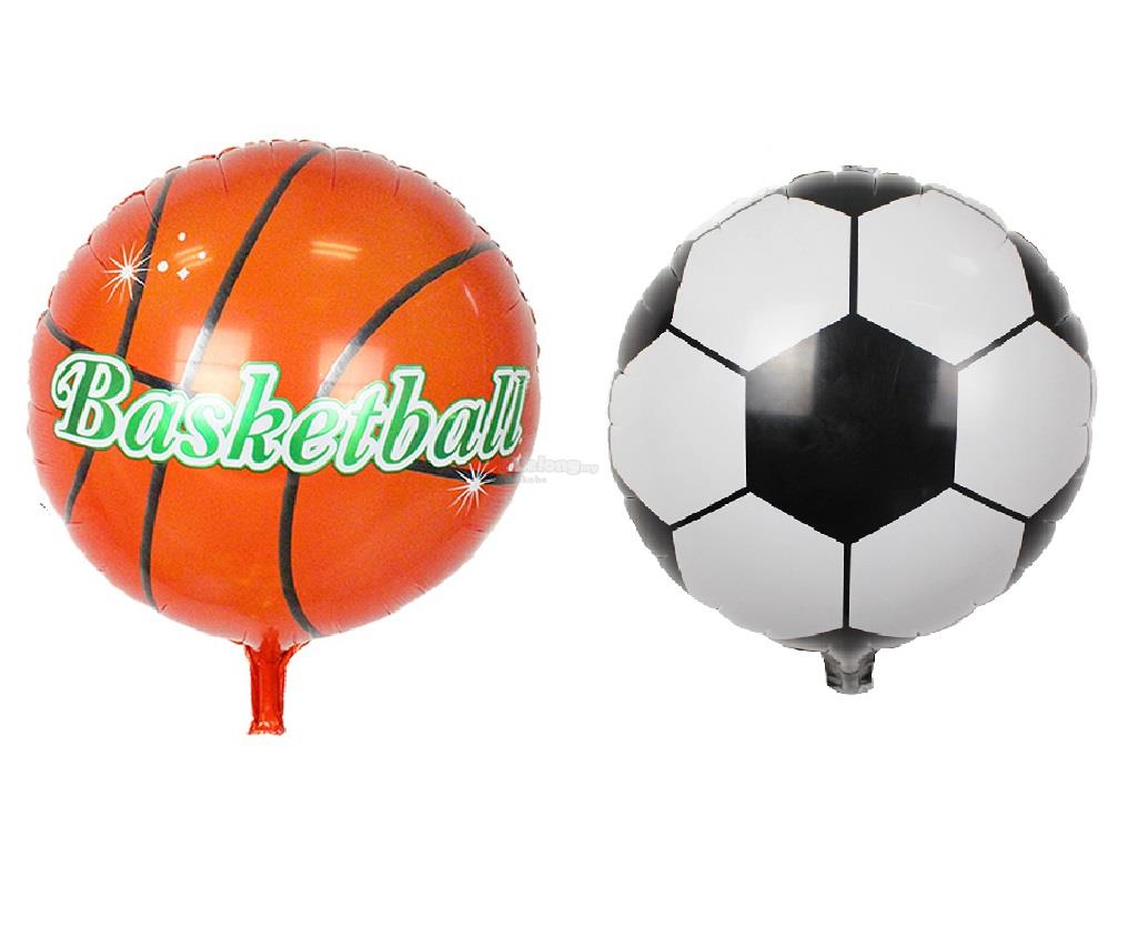 18 inch Wold Cup Ball / Soccer /Basketball Balloon Foil Balloons