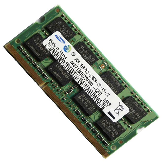 1GB DDR3 NOTEBOOK / LAPTOP RAM 1066Mhz+ refurbished