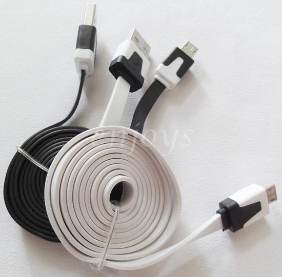 1M 1 Meter USB Charging Color Cable Samsung Galaxy Note II N7100 N7000