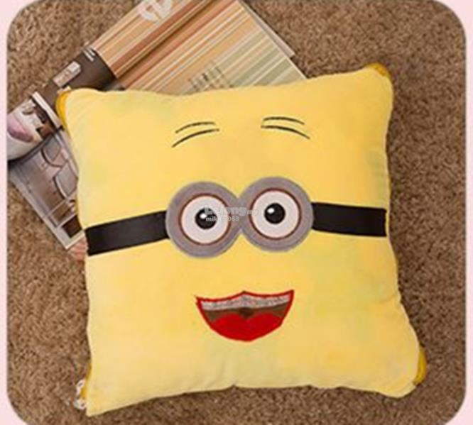 2-in-1 Air Conditioning Cushion blanket pillow Soft Cotton Pillow