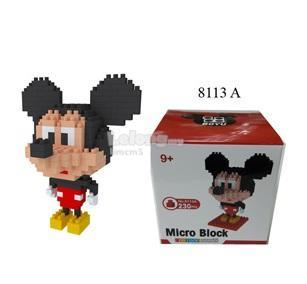 2 in 1 Set of Mickey & Minnie Nano/Micro Diamond Block