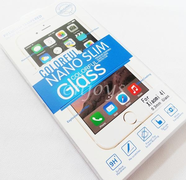 2.5D 9H Premium Tempered Glass LCD Screen Protector Xiaomi Mi4i Mi 4i