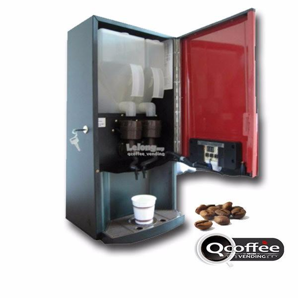2 flavour instant coffee machine