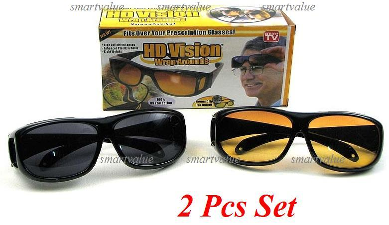 driving glasses polarized  2 Units! Day \u0026 Night Driving HD Pol (end 12/4/2017 11:39 PM)