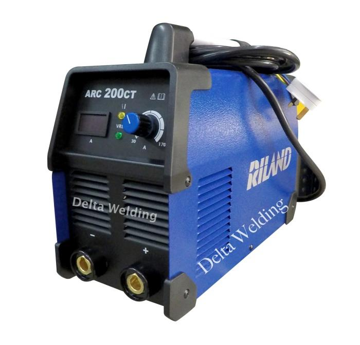 2 years warranty - ARC 200CT Welding machine Delta Riland