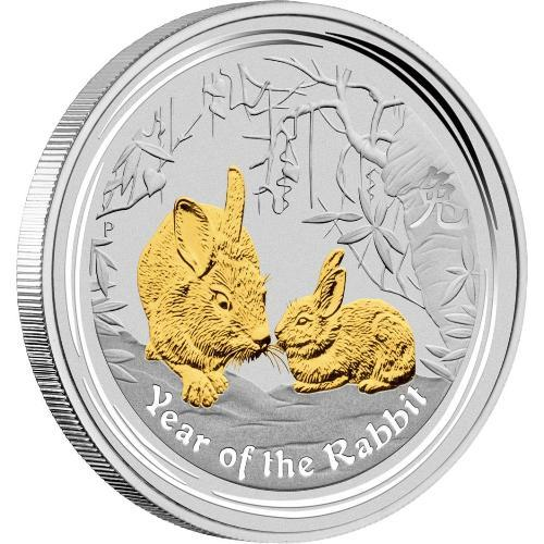 2011 YEAR OF THE RABBIT GILDED EDITION