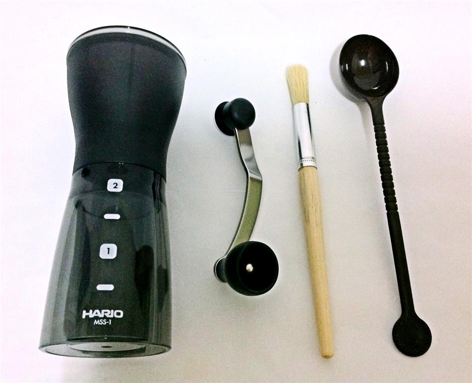 New 2016 Hario Ceramic Coffee Mill Mini Slim Plus MSS-1DTB