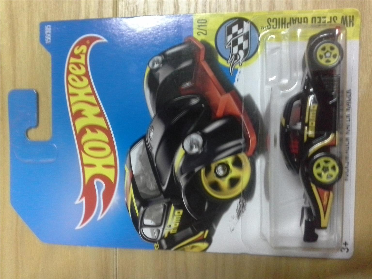 2016 Hot Wheels VOLKSWAGEN KAFER BLACK