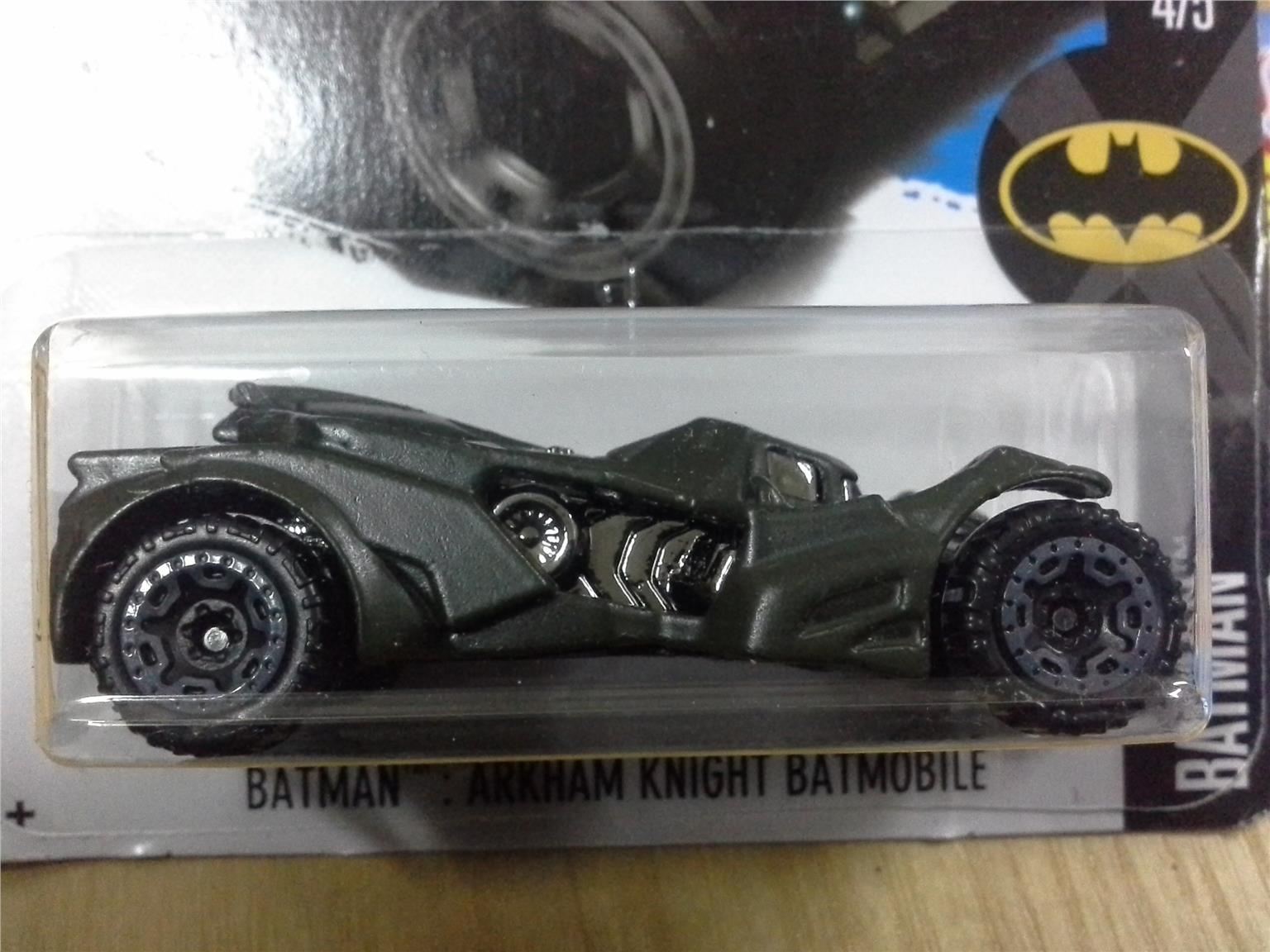 2017 Hot Wheels BATMAN ARKHAM KNIGHT (end 3/3/2018 1:15 AM)