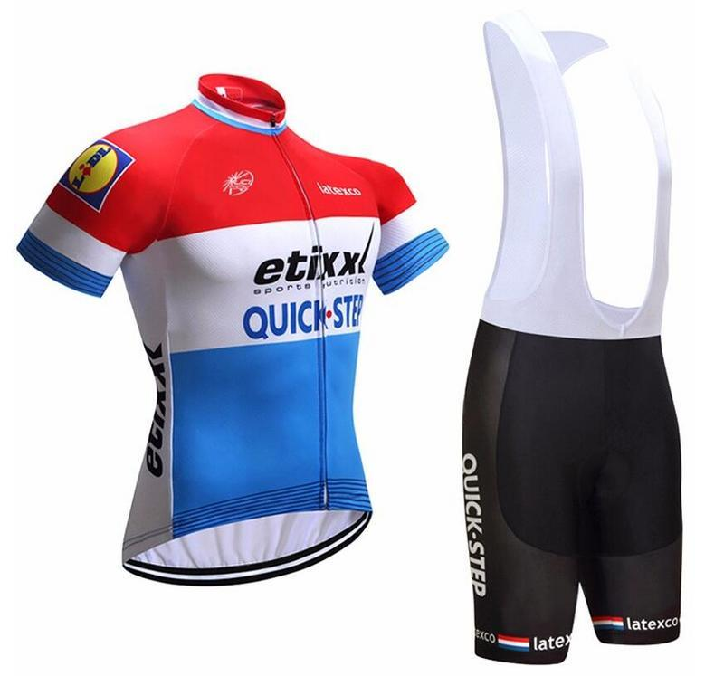 2017 Short Sleeve Cycling Jersey & Short BIB Pants Set (HSB064)