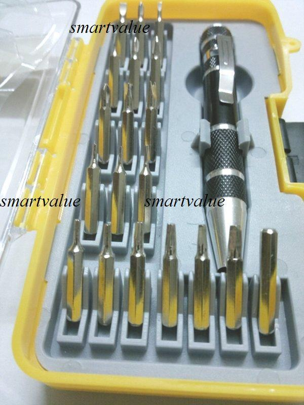 20pc Pen Type Screwdriver Tool Set for Dell,Laptop,PC,Mac,Samsung,Sony