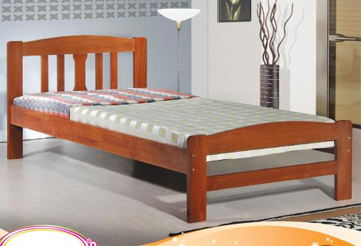 222 Wooden Single Bedframe