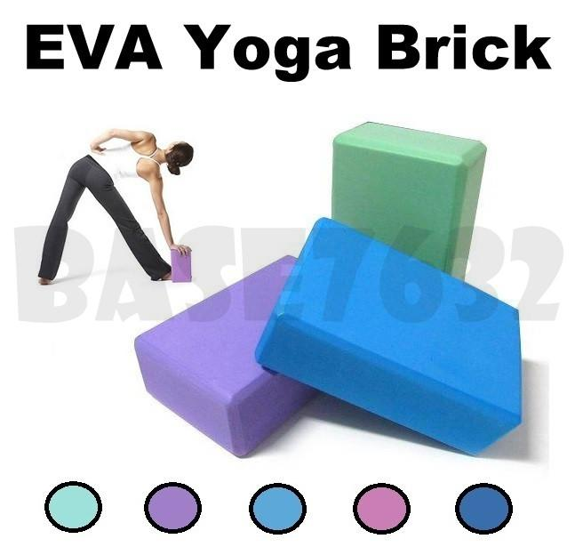 23cm EVA  Yoga Block Brick Sports Exercise Workout Stretching Aid