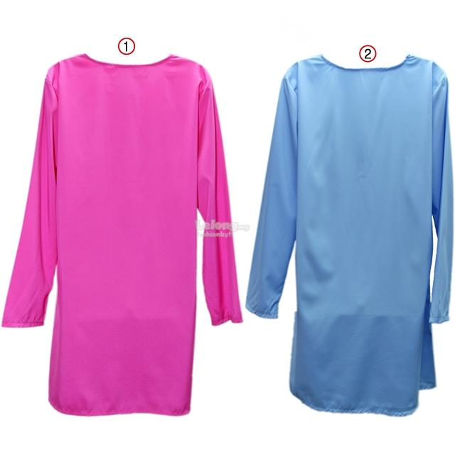 25405 Muslimah Long Sleeve Blouse with Front Zipper