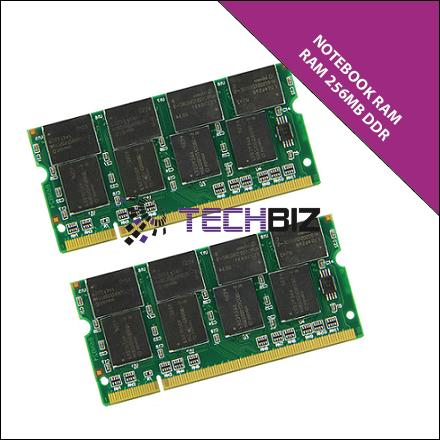 256MB DDR NOTEBOOK RAM- mix brand