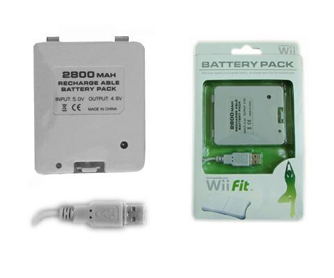 2800mAh Wii Fit Balance Board Battery Pack
