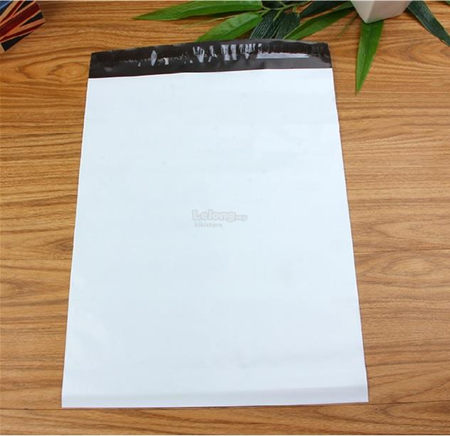 28x42cm [100pcs] White courier Packaging Flyer Plastic Bag