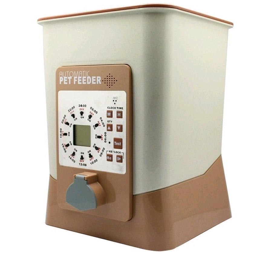 2nd Gen Automatic Pet Feeder Programmable Portion Feed 12 times a day
