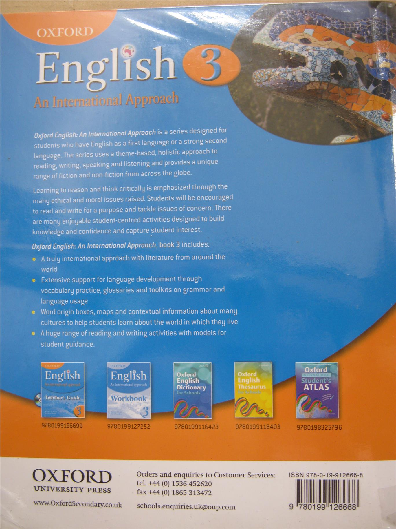 2nd hand:Oxford English: An International Approach Student Book 3