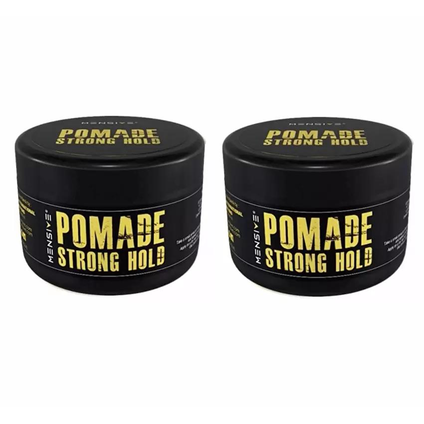 [NEW] 2x Mensive POMADE Strong Hold Hair Style 150g