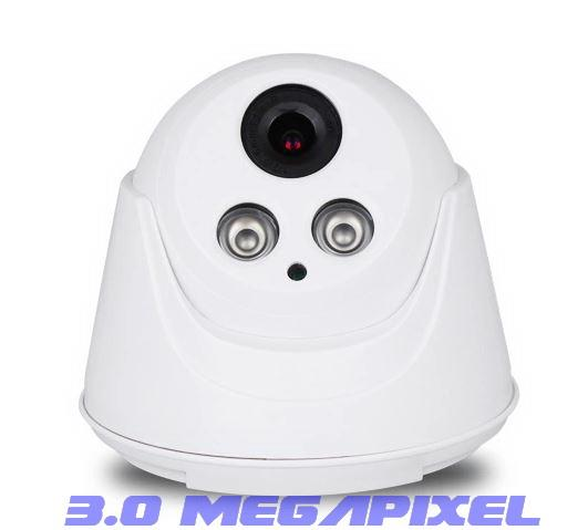 3.0 Megapixel Dome CCtv 1080p network camera
