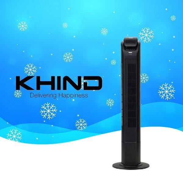 [Last 3 Days Promotion] Khind Tower Fan With Remote Control FD756IR