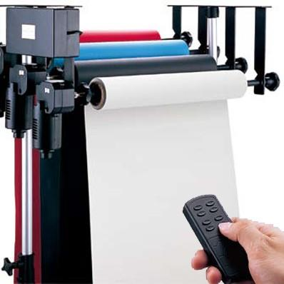3 Rollers Electric Support System with Wireless Remote Controller