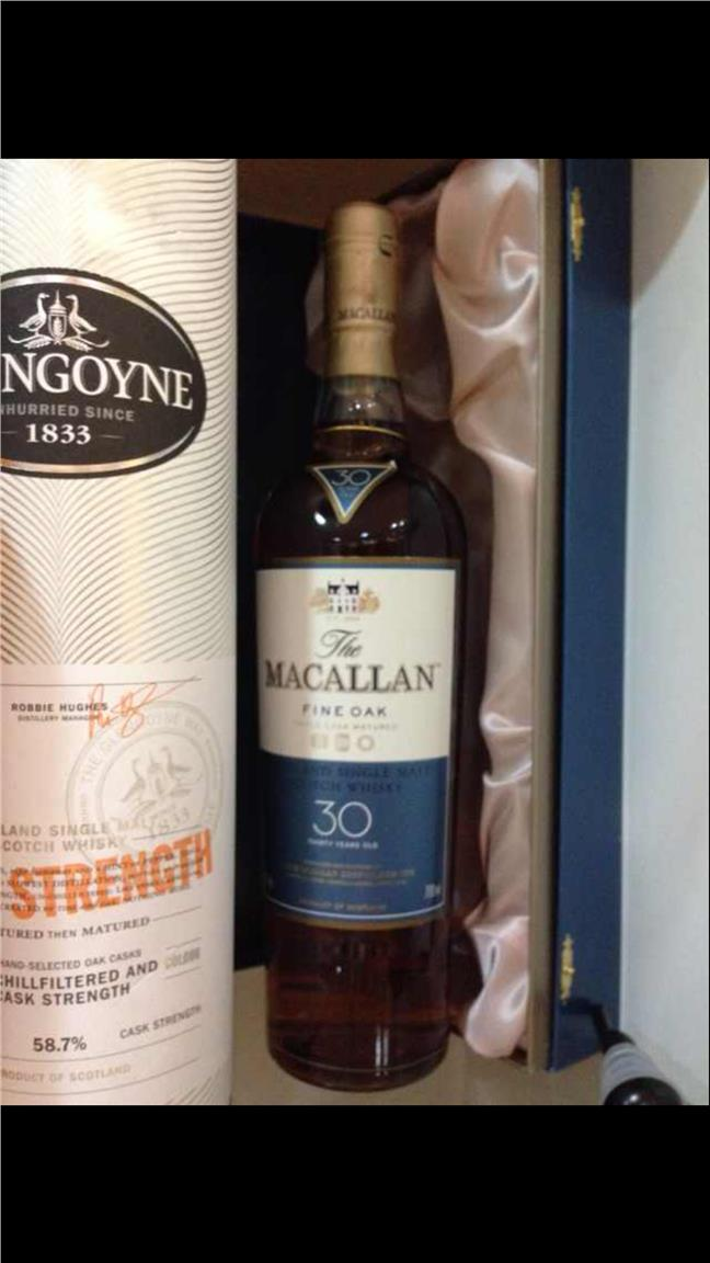 30 years Macallan Single Malt