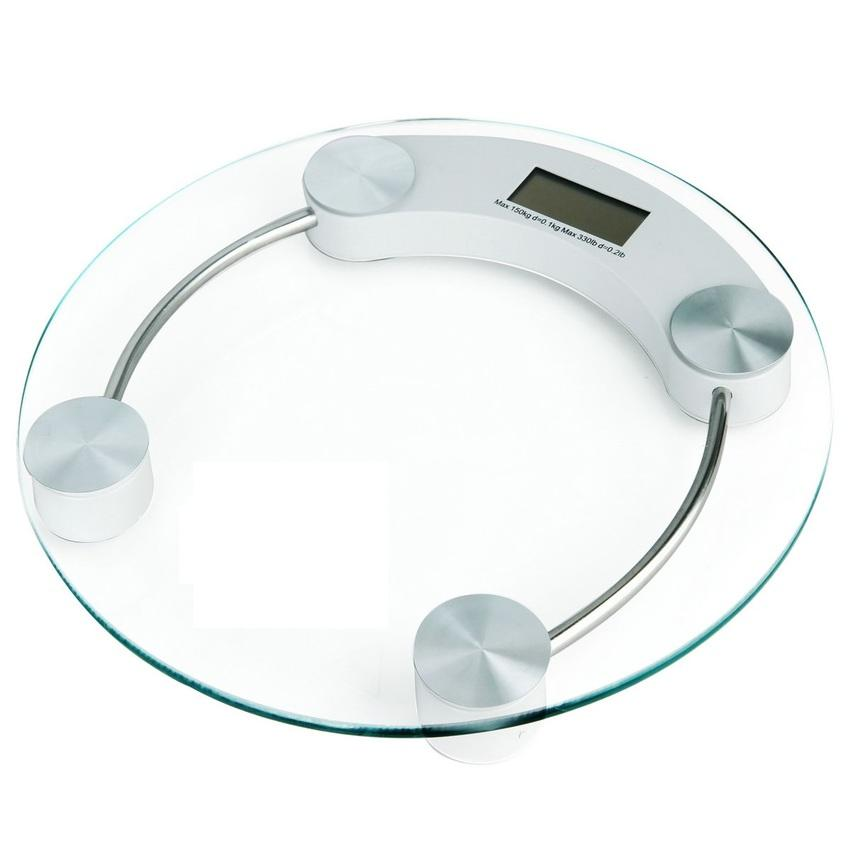 33cm Tempered Glass Electronic Body Weighting Scale