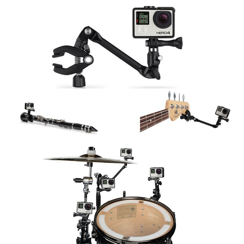 360 Degree Rotate Adjustable Guitar Music Jam Mount Bracket Stand