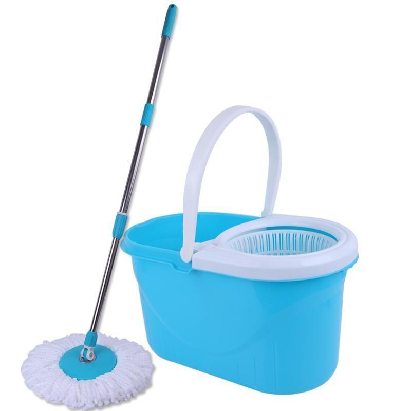 360 Degree Spin Magic Mop with Free 2 Mop Head