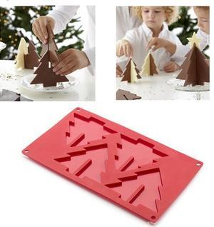 3D Christmas Tree Chocolate Candy Baking Mould