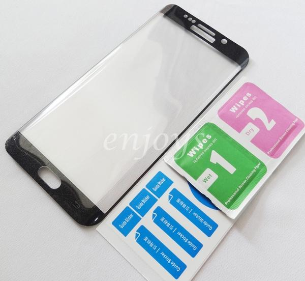 3D FULL Tempered Glass Screen Protector Samsung Galaxy S6 Edge+ Plus B