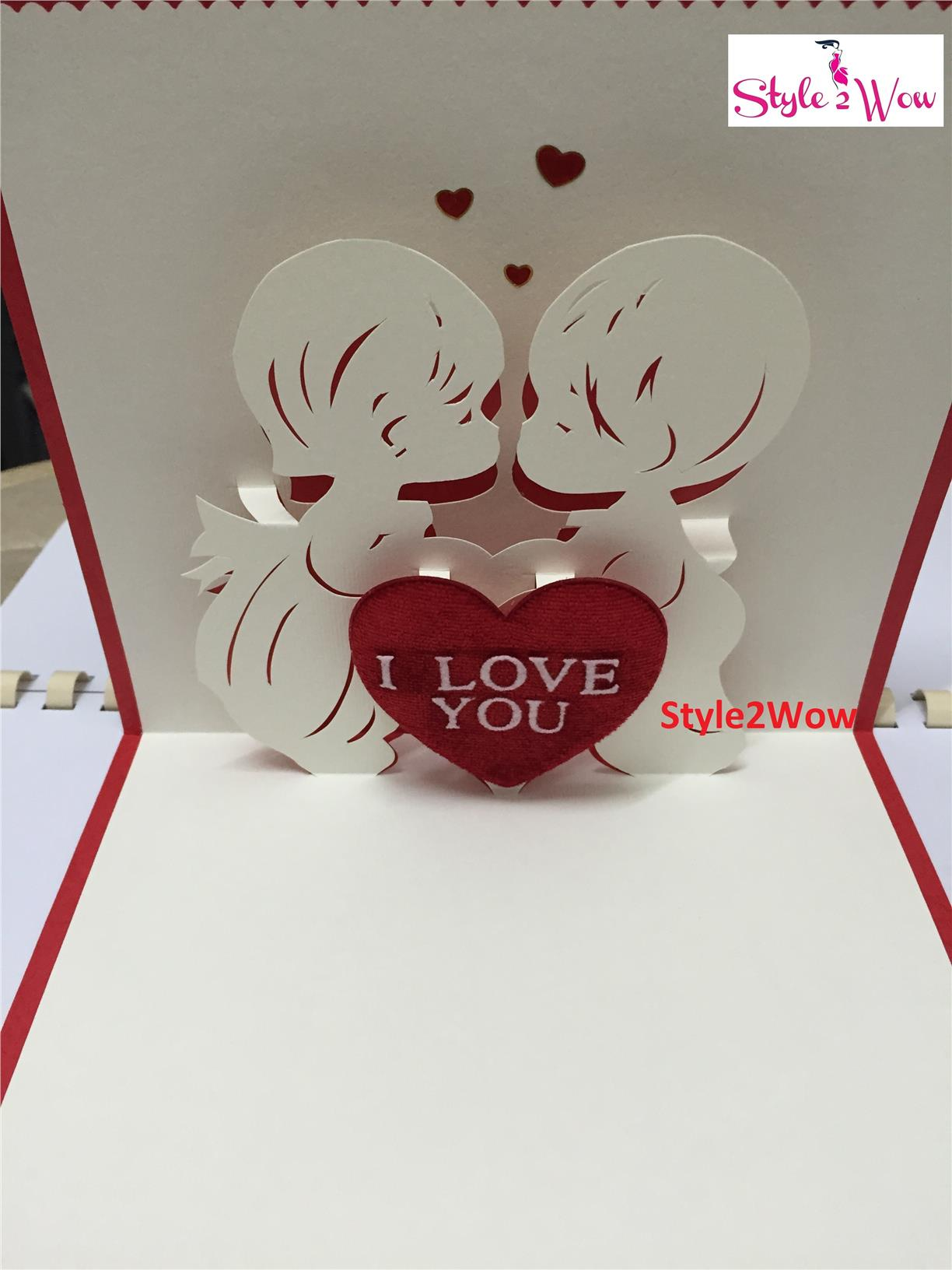 3D Handmade Valentines Day Card end 3292015 1048 PM – 3d Valentine Cards