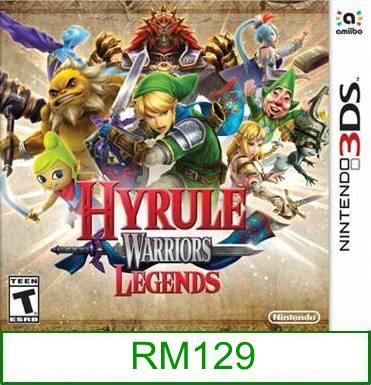 3Ds Hyrule Warriors [US/Asia] ★Brand New & Sealed★