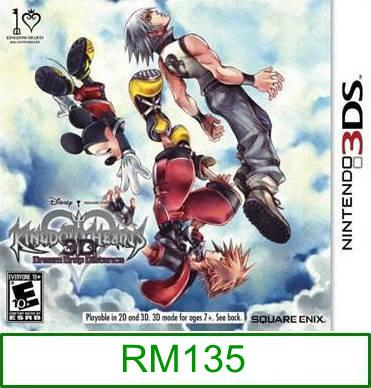 3Ds Kingdom Hearts 3D Dream Drop Distance [US] ★Brand New & Seal..