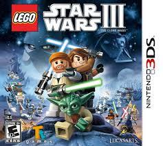 3DS LEGO Star Wars III The Clone Wars (US)