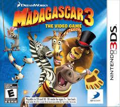 3DS Madagascar 3 The Video Game (US)