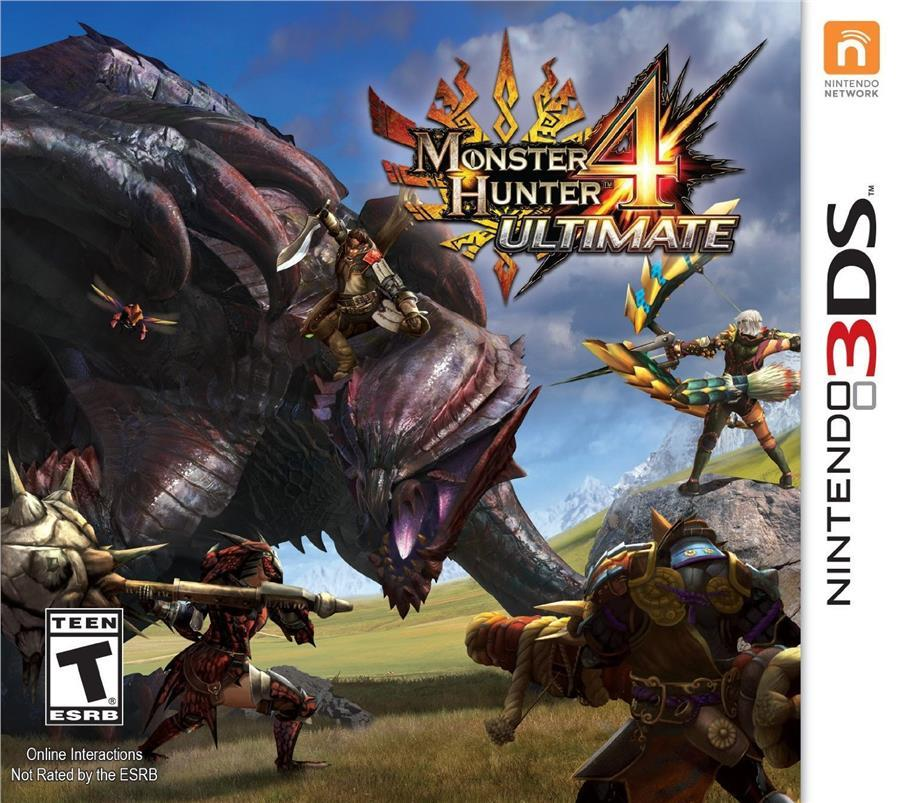 3DS Monster Hunter 4 Ultimate Standard Edition