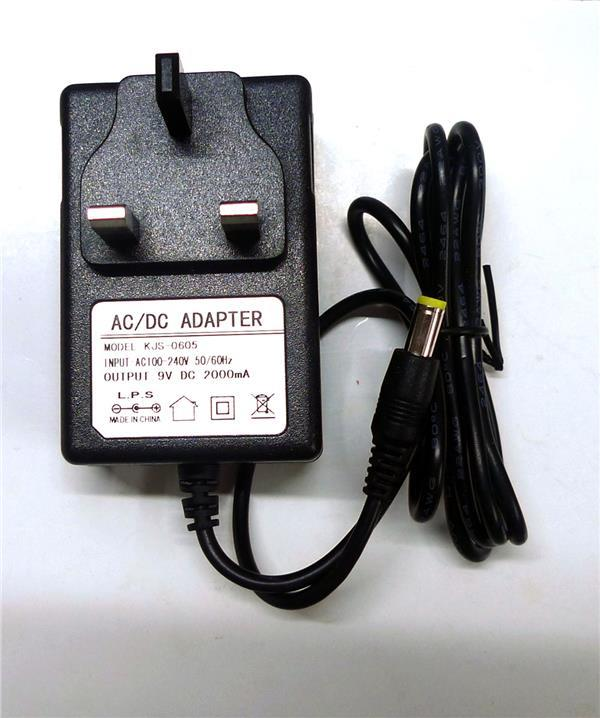 3pin Wall AC Power Adapter Charger DC 9V 2A 5.5mm Breast pump